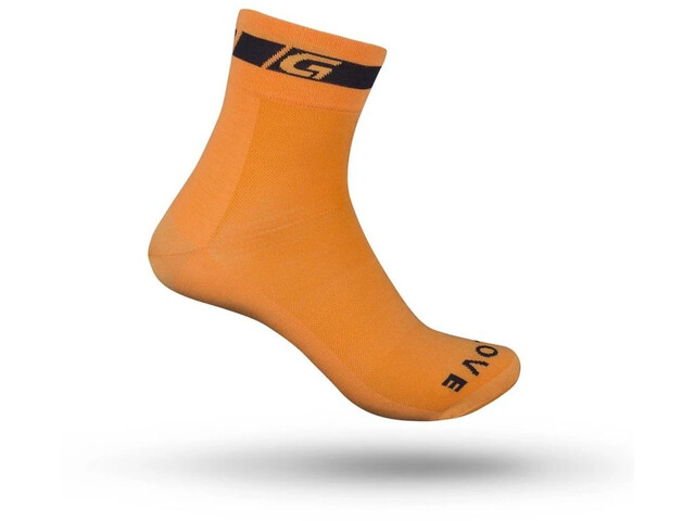 GripGrab Classic Regular Cut Socken orange